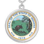 Sello del estado de Indiana Grimpola Personalizada
