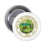 Sello del estado de Indiana Pins
