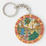 Sello del estado de la Florida Llaveros