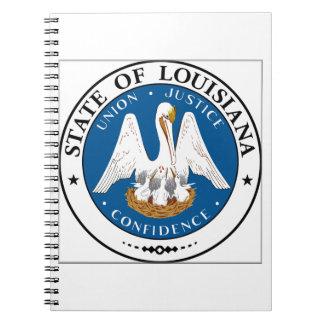 Sello del estado de Luisiana Libretas