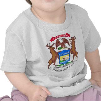 Sello del estado de Michigan Camisetas
