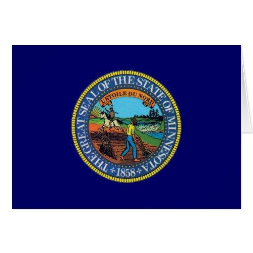 Sello del estado de Minnesota Tarjeton