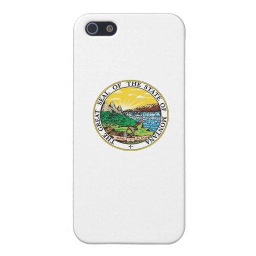 Sello del estado de Montana iPhone 5 Carcasa