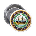 Sello del estado de New Hampshire Pins