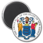 Sello del estado de New Jersey Iman De Nevera