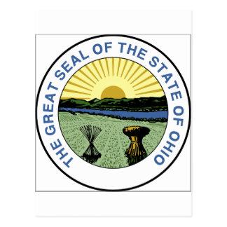 Sello del estado de Ohio Postal