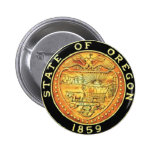 Sello del estado de Oregon Pin