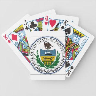 Sello del estado de Pennsylvania Cartas De Juego