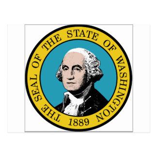 Sello del estado de Washington Tarjetas Postales