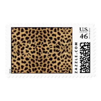 sello del estampado leopardo