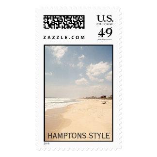 Sello del estilo de Hamptons