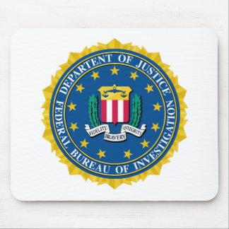 Sello del FBI Tapete De Ratón