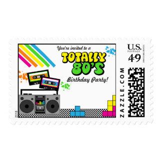 sello del fiesta de los años 80