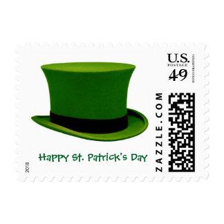Sello del gorra del verde del día de St Patrick