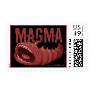 Sello del gusano del magma