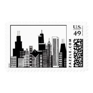 Sello del horizonte de Chicago