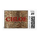 Sello del leopardo de Chloes