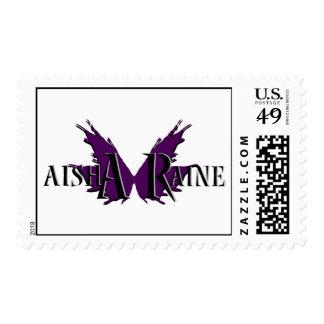Sello del logotipo de Aisha Raine
