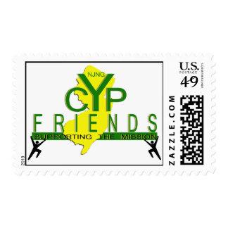 Sello del logotipo de los amigos