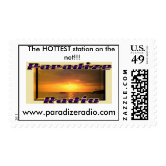 ¡Sello del logotipo de ParadizeRadio!