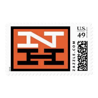 Sello del logotipo del ferrocarril de New Haven