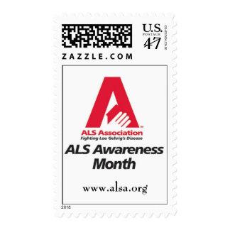 Sello del mes de la conciencia del ALS