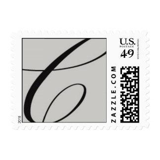 """sello del mongram """"C"""""""