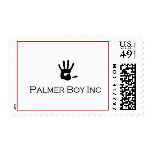 Sello del muchacho de Palmer