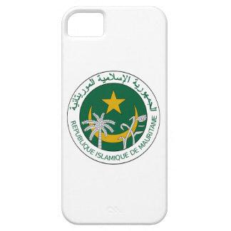Sello del nacional de Mauritania iPhone 5 Funda