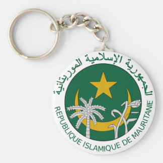 Sello del nacional de Mauritania Llavero