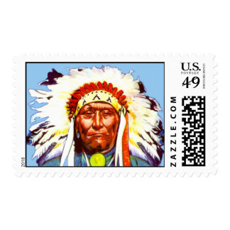 Sello del nativo americano