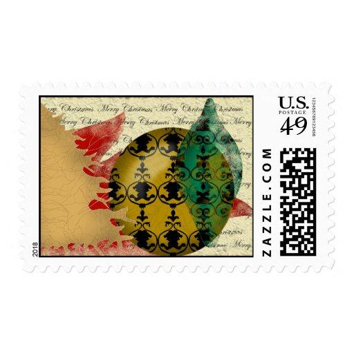 sello del Navidad-collage