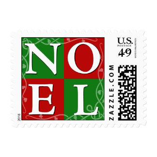 Sello del navidad de NOEL