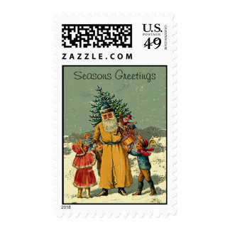 sello del navidad del padre del Viejo Mundo
