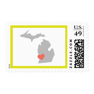 Sello del oeste de Michigan