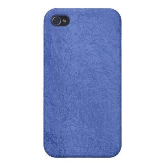 Sello del oro Art101 - espacios en blanco azules d iPhone 4 Carcasa