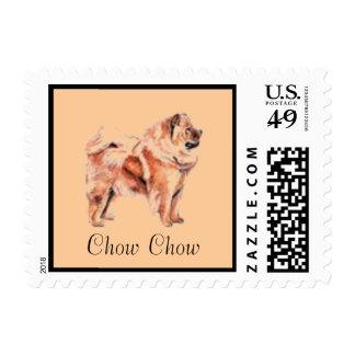Sello del perro del perro chino de perro chino par