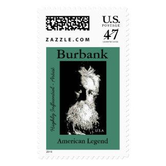 Sello del poste de Burbank