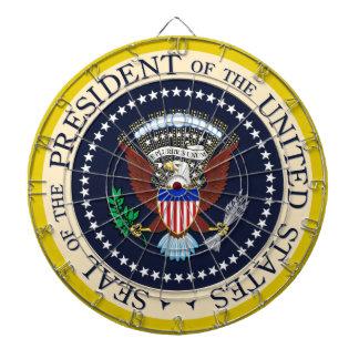 Sello del Presidente de los Estados Unidos Tablero Dardos
