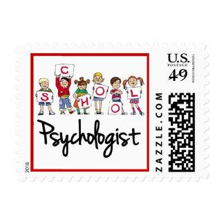 Sello del psicólogo de la escuela