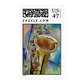 Sello del saxofón