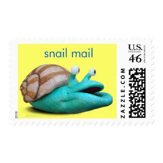 Sello del snail mail