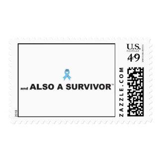 Sello del superviviente del cáncer de próstata