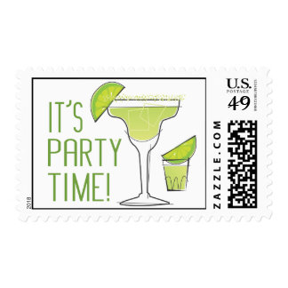 Sello del tiempo del fiesta
