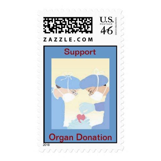 Sello del trasplante de corazón de la donación de