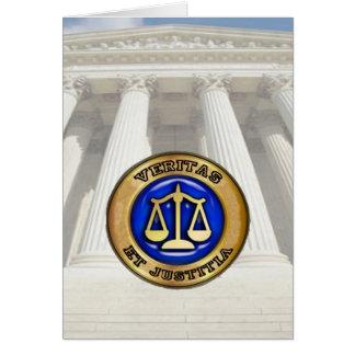 Sello del Tribunal Supremo Tarjeta