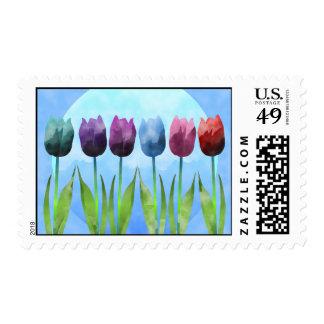 Sello del tulipán