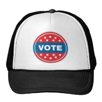 Sello del voto - azul gorro