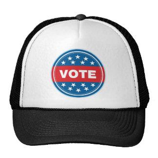 Sello del voto - rojo gorras
