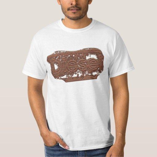 Sello diesel del Grunge Camisas